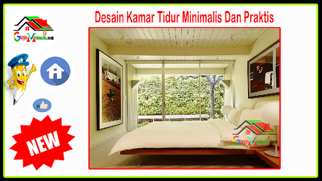 Desain Kamar Tidur Minimalis Dan Praktis