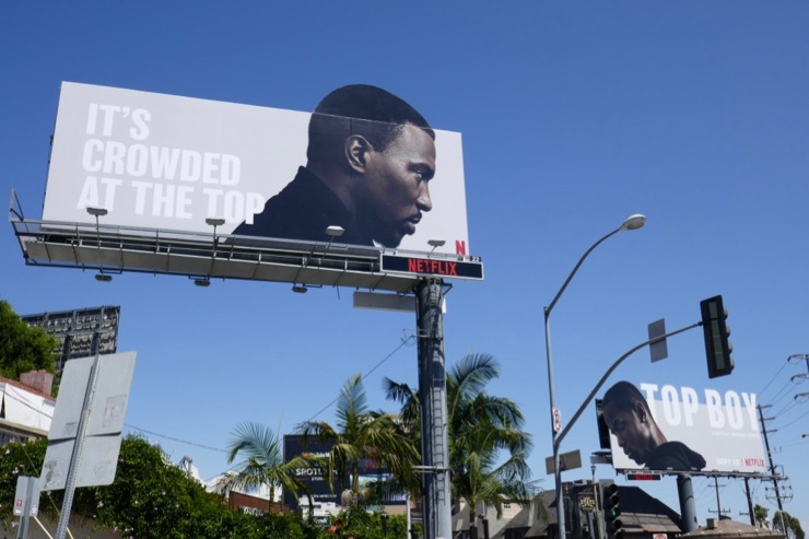 Top Boy Netflix extension billboards
