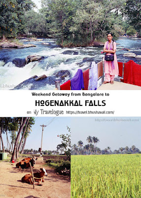 Hogenakkal Falls, weekend getaway from Bangalore