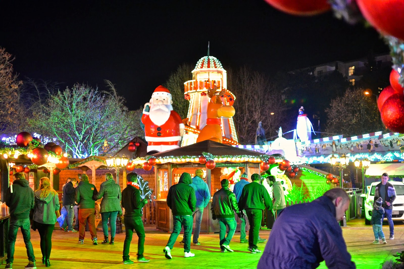 Winter Wonderland in Cardiff