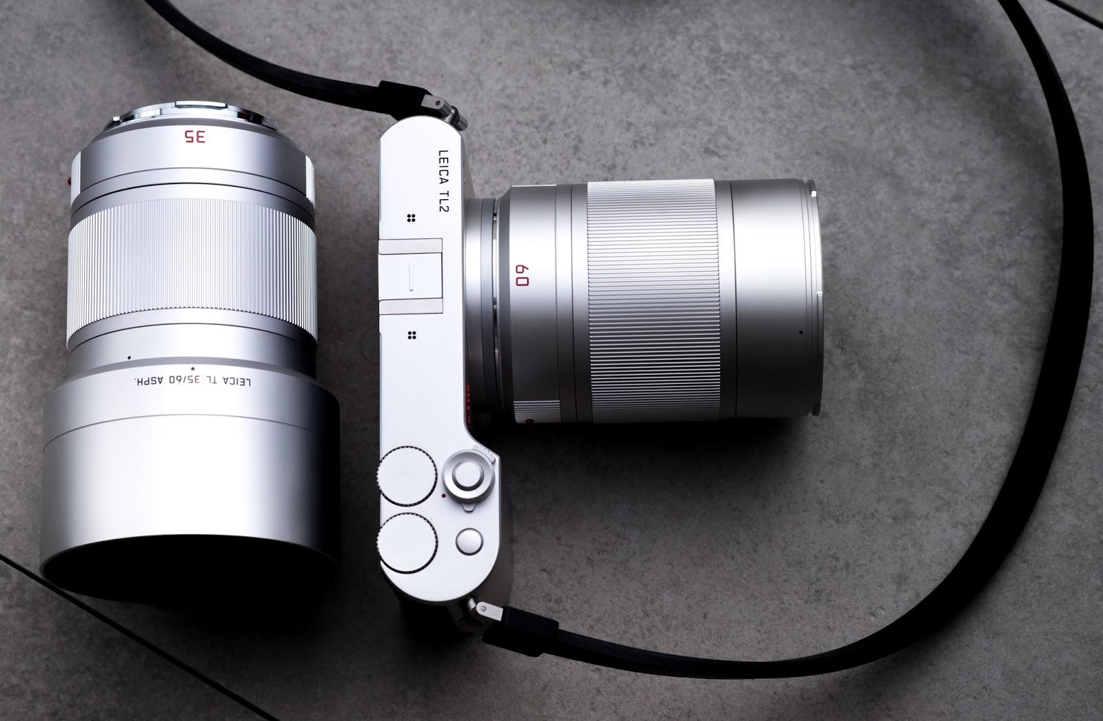 Leica TL2 с объективами 35mm и 60mm
