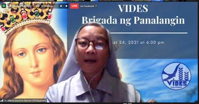 VIDES PINOY COMMUNITY PRAYER