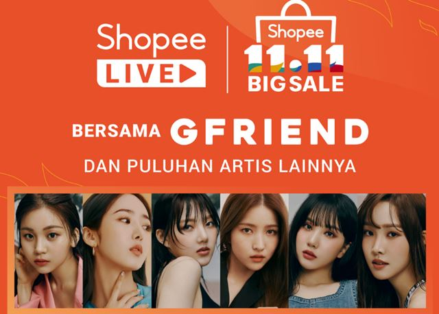 GFRIEND Siap Meriahkan Shopee 11.11 Big Sale - shopee.co.id