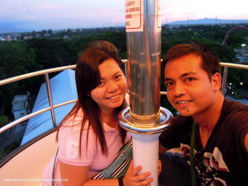 Riding the Wheel of Fate at Enchanted Kingdom