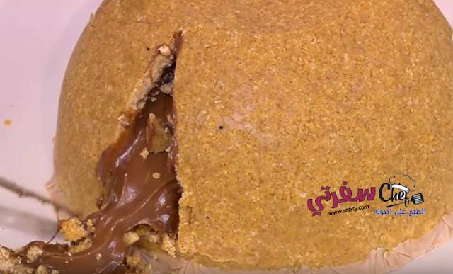 المولتن كيك بالنوتيلا سالي فؤاد