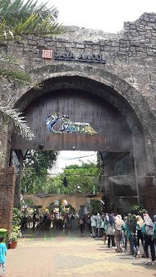Pintu masuk Ocean Dream samudera Ancol