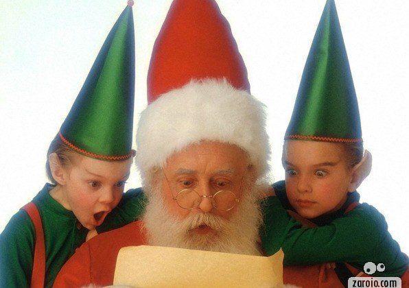 Carta engraçada para o Papai Noel