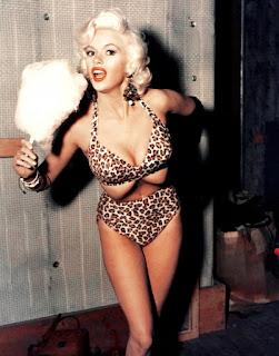 Jayne Mansfield In A Bikini