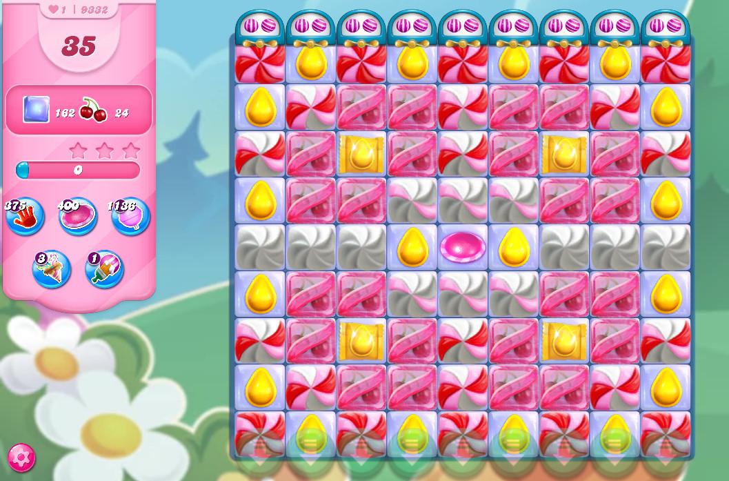 Candy Crush Saga level 9332