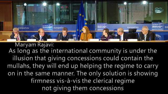 Iran-Maryam Rajavi's speech at the European Parliament on the eve of the International Human Rights Day