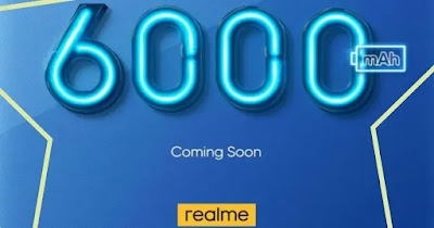Realme Introduces New Phone With Big Battery Of 6000mAh, Chance To Feature 5G Support