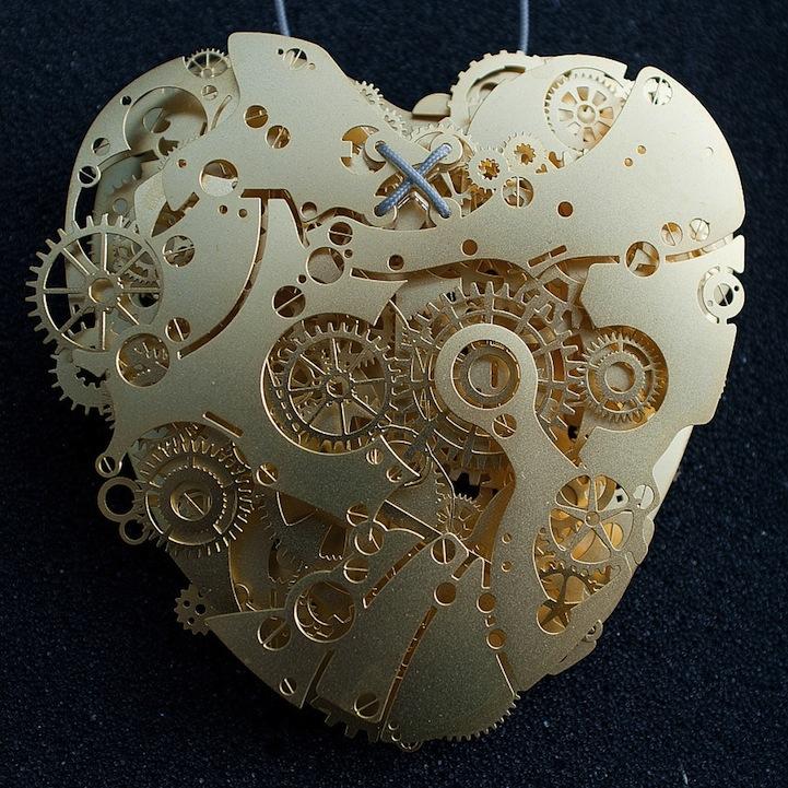 Сердце из бумаги Франка Тьепкема 19