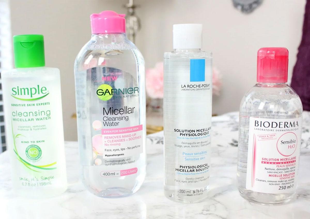 Micellar water được phát minh để thay thế và giải quyết tác hại của nước cứng khi rửa mặt và tẩy trang