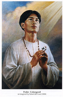 Saint Pedro Calungsod Prayer Photo