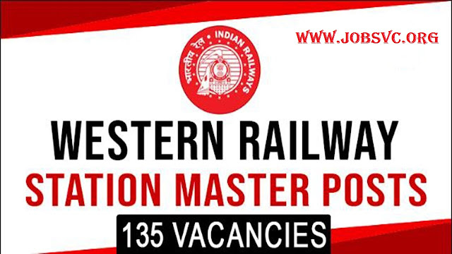 Western Railway Recruitment (2019) - 135 Posts of Station Master
