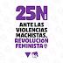 Manifiesto del Área de la Mujer de Izquierda Unida por el 25N de 2019.