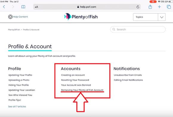 Delete pof b com aspx account Plenty of