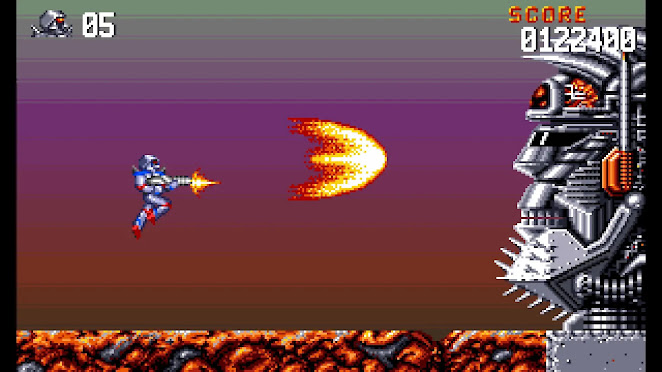 Turrican Flashback gameplay