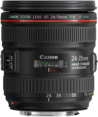 Canon EF 24-70mm f/4 L-series lens