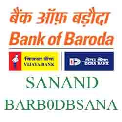 New IFSC Code Dena Baroda SANAND
