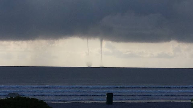 Double Waterspouts