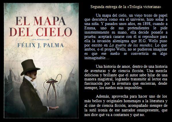 El mapa del cielo de Félix J. Palma