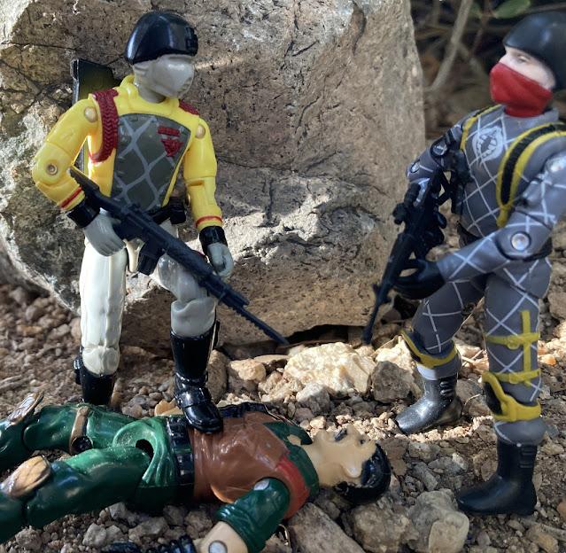 1989 Python Patrol Crimson Guard, 2021 Python Patrol Cobra Trooper, Black Major, Auriken Mutt, Mexico