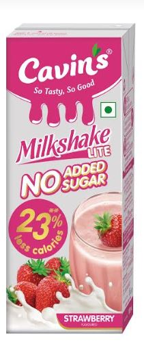 CavinKare launches India's first no added sugar Milkshake under its flagship dairy brand Cavin's