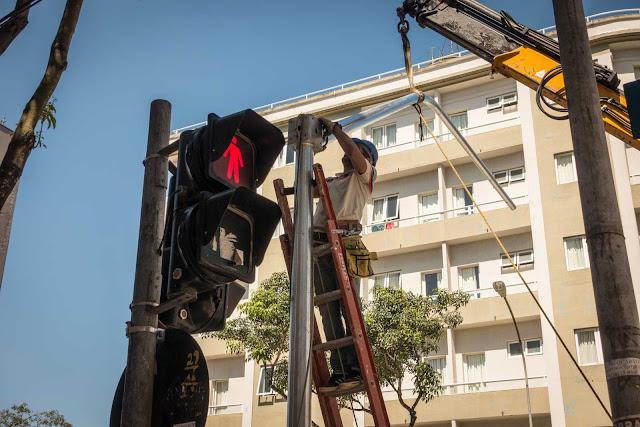 O arrumador de semáforos