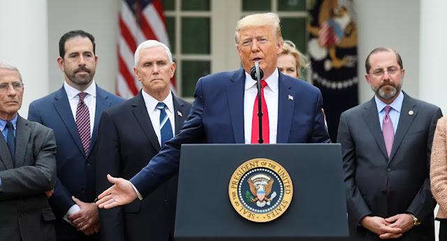 ترامب: قد نؤجل الانتخابات الأمريكية في حال استمرت أزمة فيروس كورونا