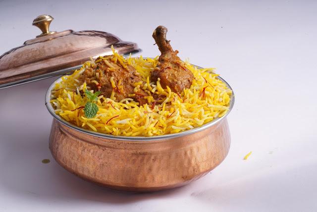 Zafrani Chicken Biryani