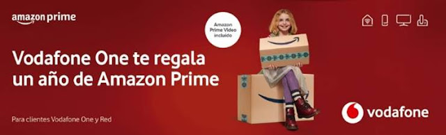 Vodafone One te trae Amazon Prime gratis