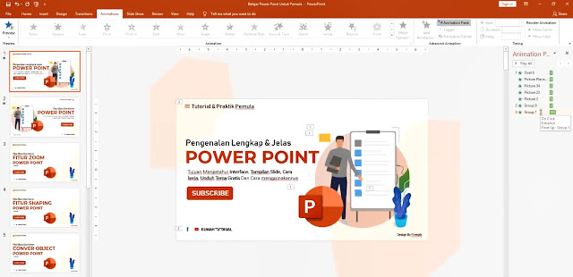 25 Tips Belajar Powerpoint 2016 Untuk Pemula