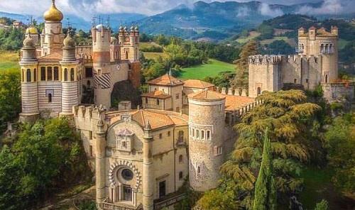 Rocchetta Mattei (Bo) - Castelli e Fortezze piu' belli in Italia.