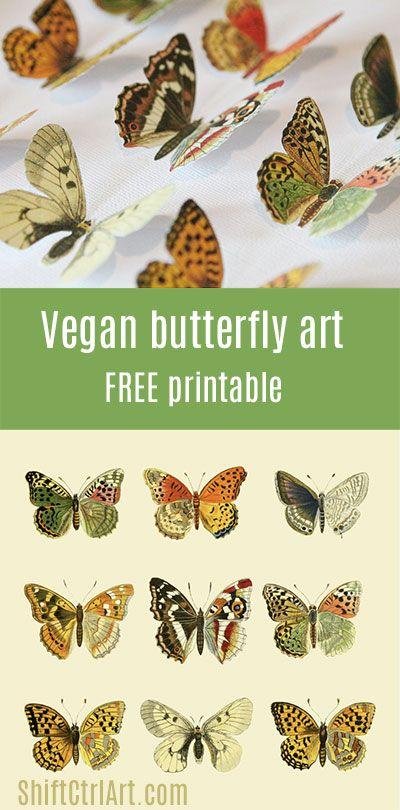 Come creare decorazioni con farfalle 3d - Farfalle decorative per pareti ...