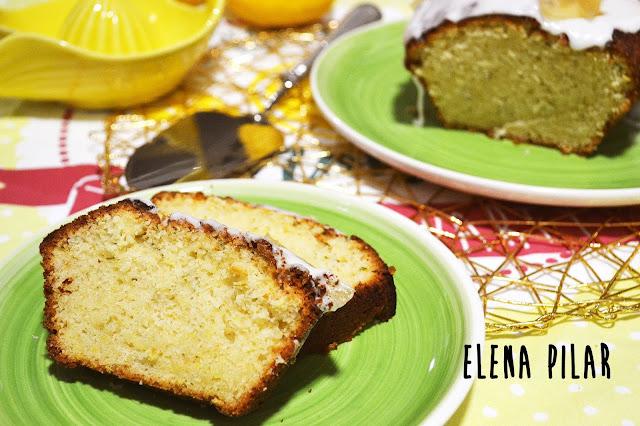 Bizcocho de limón y calabacín