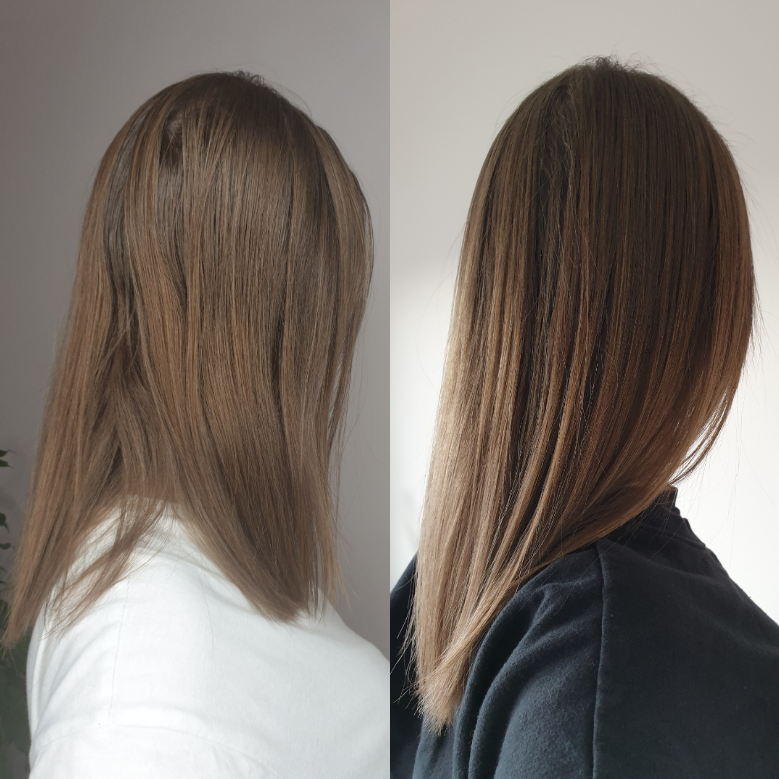 Lydia Hair Growth Supplement Before and After