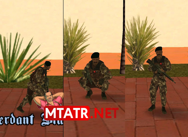 MTASA Soldier Animations
