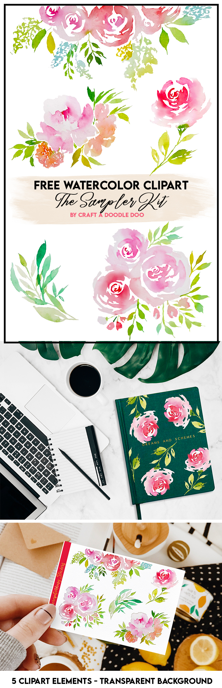 http://onceuponherdream.blogspot.com/2020/07/watercolor-botanical-and-floral.html