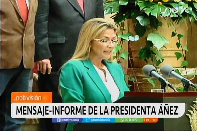 Presidenta Áñez instruyó mano dura para acabar con el narcotráfico