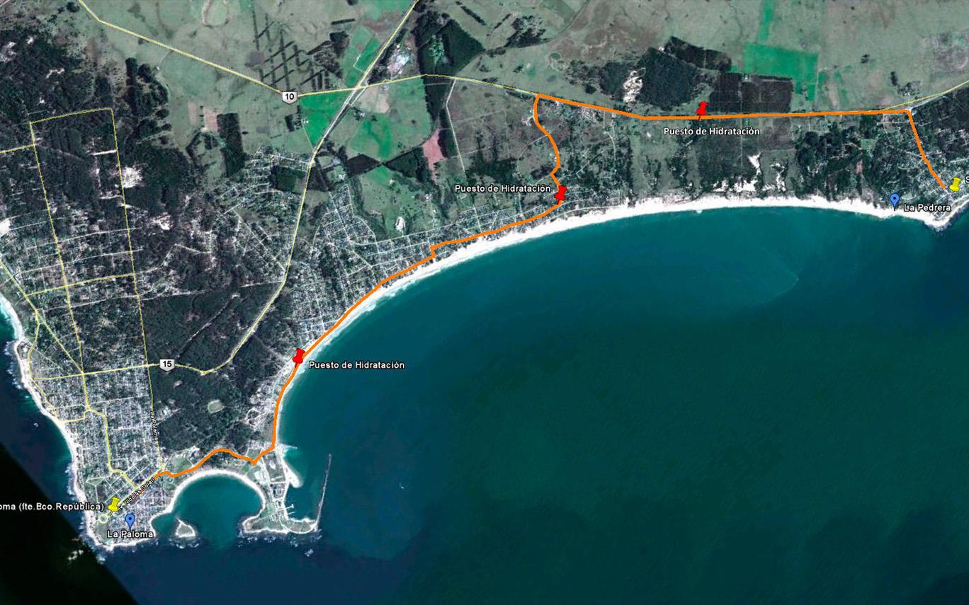 Circuito La Pedrera : Run uruguay: xiii maratón la pedrera la paloma 11 7k sábado 17