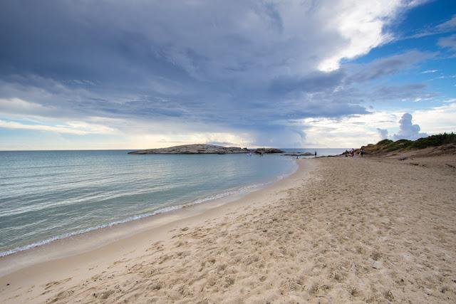 Spiaggia di Costa rei-Scoglio di Peppino
