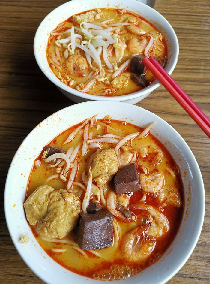 Famous Curry Mee Noodles at Kuala Sepetang (十八丁咖哩面)