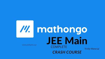 MathonGO JEE Main Complete  Crash Course Study Material [PDF]