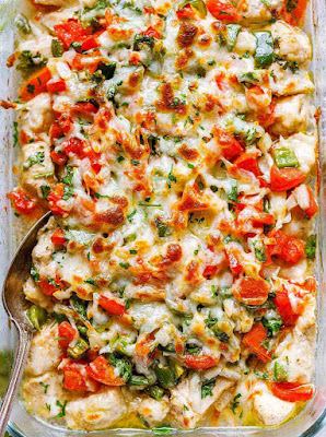 Salsa Fresca Chicken Bake | Healthy chicken recipes, Chicken recipes, Healthy cooking