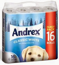 Andrex Toilet Paper Christmas Packet