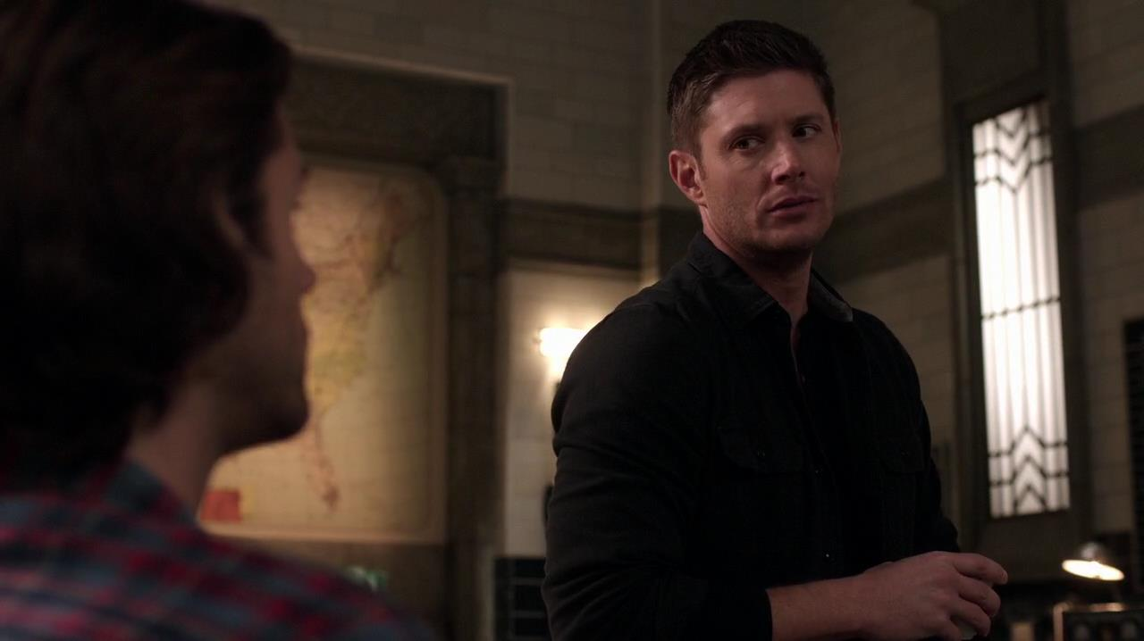 Dean (jensen Ackles) Is Still Angry At Castiel €�  Or So It Seems The Last