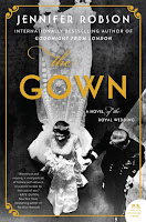 The Gown by Jennifer Robson, book cover and review