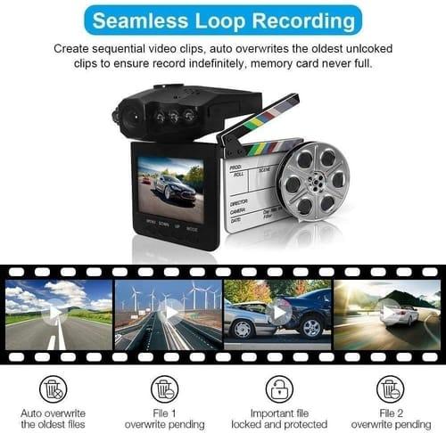 Review FILDANCO Car Dash Cam with Night Mode