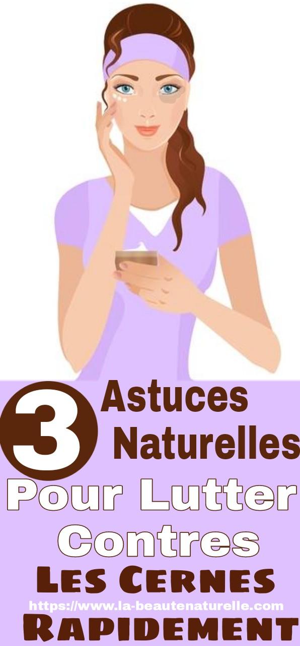 3 astuces naturelles pour lutter contres les cernes rapidement